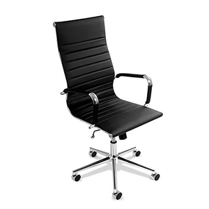 Buy Eames Replica PU Leather HIGH BACK Executive Computer Office Chair Black