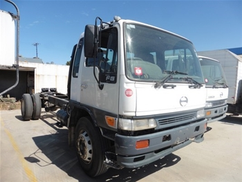 Hino, FG15, Cab Chassis Truck, 1999