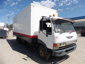 Hino FC3W Pantech Truck, 1993