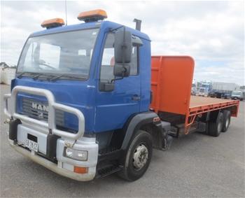 Man LM2000 6x4 Tray Body Truck, 2002