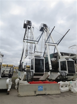 2 Favco M310DF Tower Cranes- Offers Invited