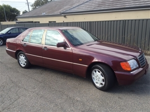 1995 Mercedes Benz 300 SE W140 RWD 5 seater Sedan, 257,457 km indicated