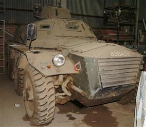 Armoured Personnel carrier, Alvis Saracen six wheel, Rolls Royce straight 8