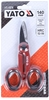 2 Pairs x YATO Stainless Steel Electricians Scissors, 140mm. Buyers Note -