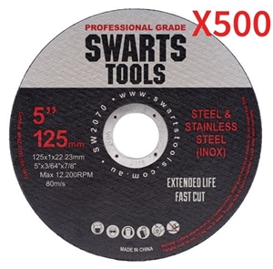 """500 X 5"""" 125Mm Cutting Disc Wheel Thin A"""