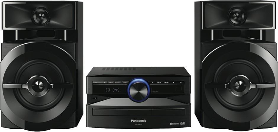 Panasonic UX100 300W Mini Hi-Fi System (Black)
