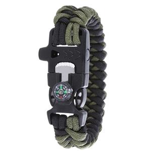 Seal 6 Survival Paracord Bracelet c/w Co