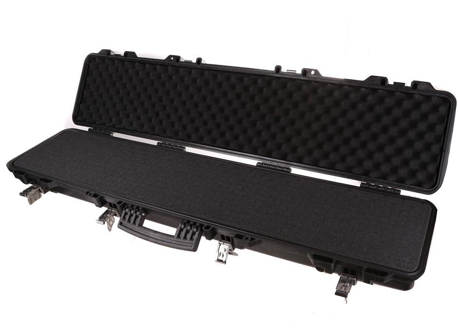 TSUNAMI Hunting Rifle Shot Gun Carry Case 120cm x 24cm Waterproof Hard PVC.
