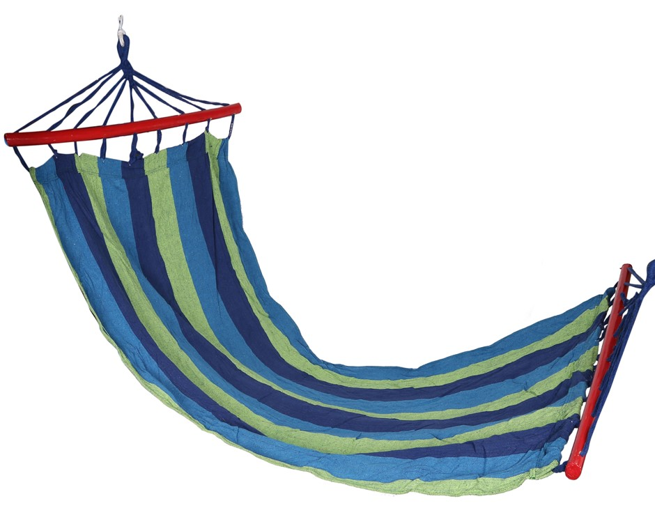 Heavy Duty Cotton Hammock. Buyers Note - Discount Freight Rates Apply to Al