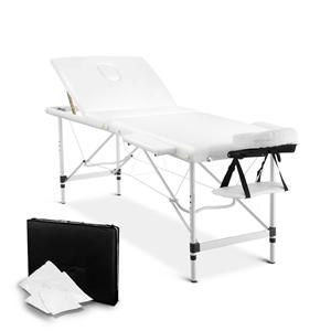 Livemor 3 Fold Portable Aluminium Massag