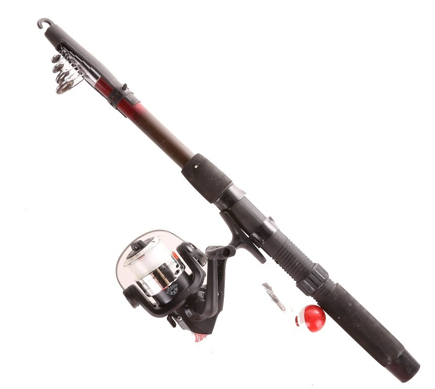 Ready to Fish Tackle Pack with Fibreglass Rob & Reel Combo. Buyers Note - D