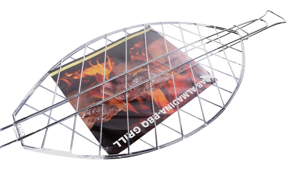 2 x Large BBQ Fish Grill, 63cm x 35cm. Buyers Note - Discount Freight Rates