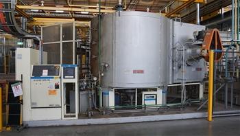 Aluminium Casting - Block Deburring, Heat Treatment Oven & Robotic Handling