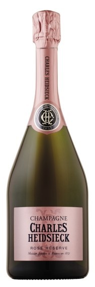 Charles Heidsieck Rosé Réserve NV (6 x 750mL), Champagne, France.