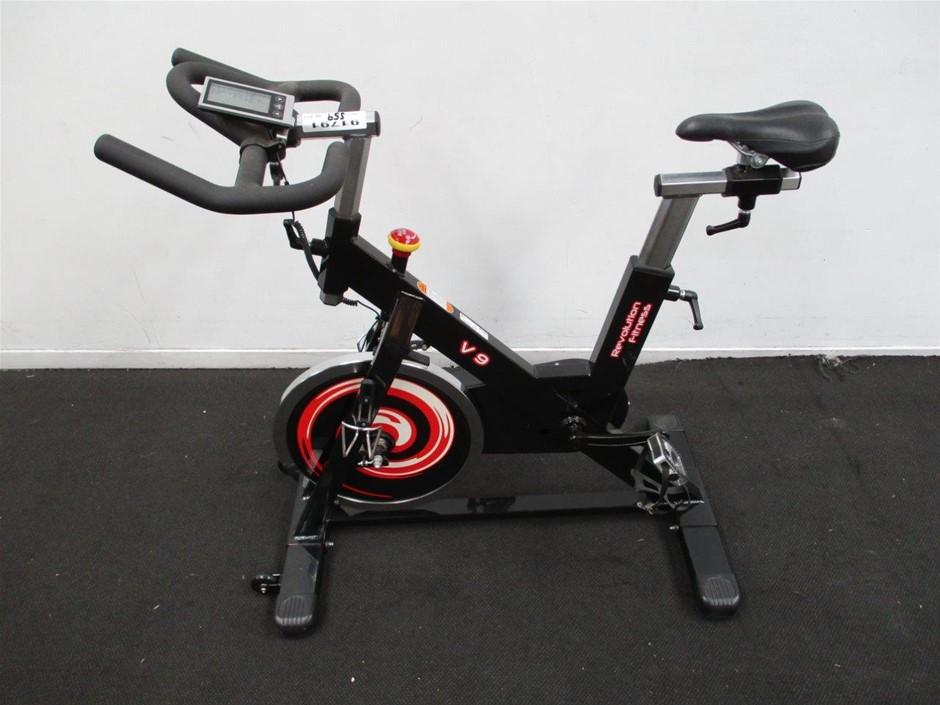 Revolution Fitness V9 Spin Bike Auction (0559-7016872 ...