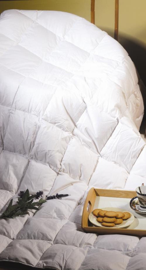 100% White Duck Feather Duvet / Doona /Quilt-QUEEN