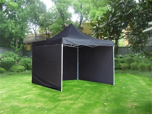 3x3m Popup Gazebo Party Tent Marquee -Bl