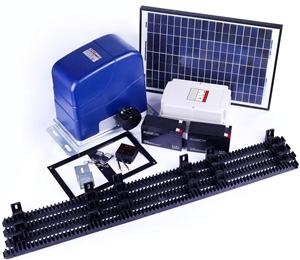 Buy 1000kg Solar Backup Auto Slide Sliding Gate Opener