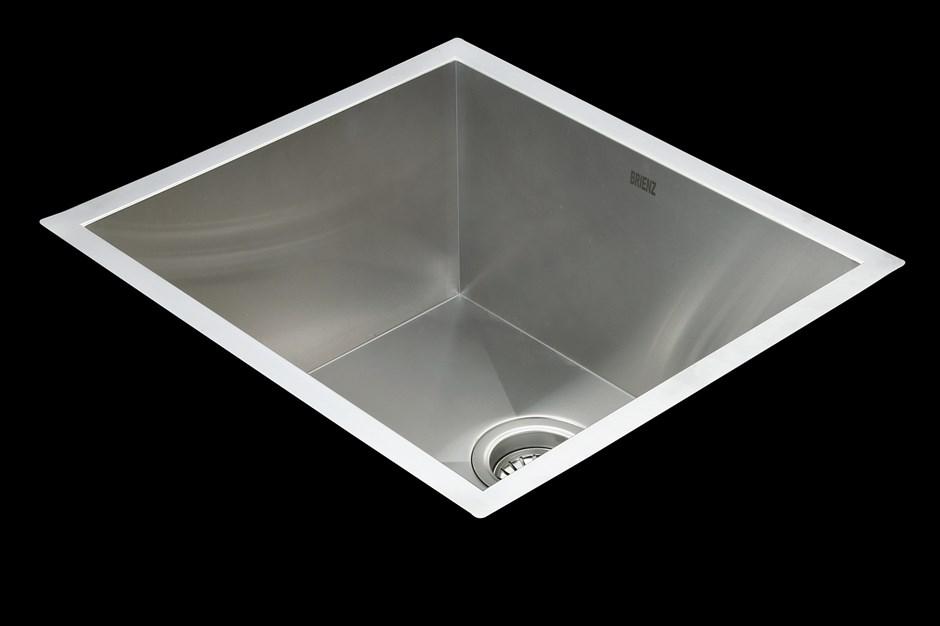510x450mm Stainless Steel Undermount/Topmount Kitchen Laundry Sink w Waste