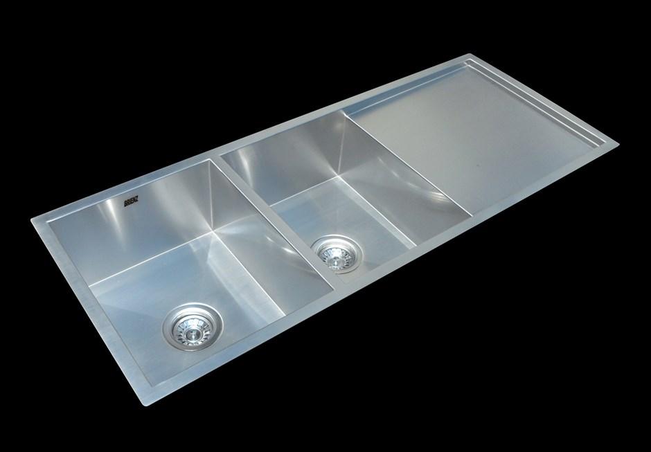 Handmade SS Undermount / Topmount Sink with Waste