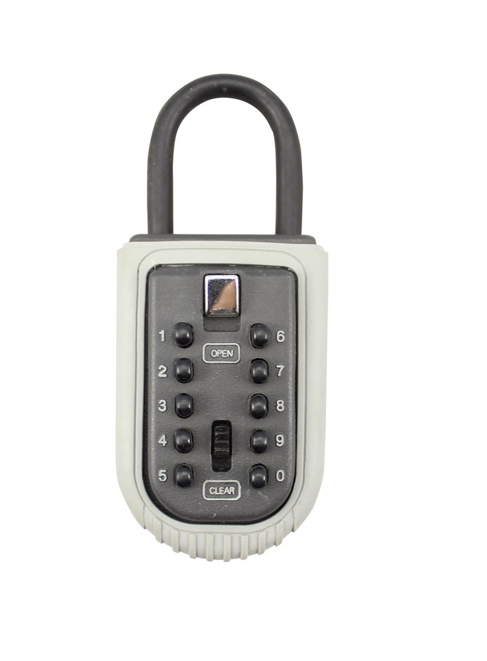 Portable Padlock Safe Key Box Lock