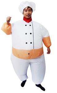 CHEF Fancy Dress Inflatable Suit -Fan Op