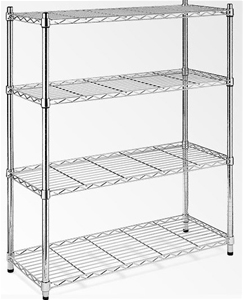 Modular Chrome Wire Storage Shelf 1200 x
