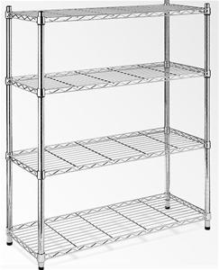 Modular Chrome Wire Storage Shelf 1200 x