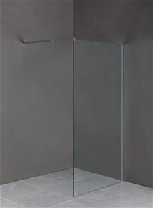 1200 x 2000mm Frameless 10mm Safety Glas