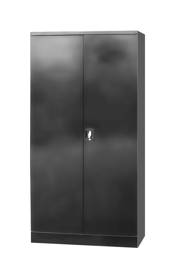 Two Door Shelf Office Gym Filing Storage Locker Cabinet Safe