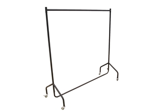 300LBS Heavy Duty Clothing Garment Rail