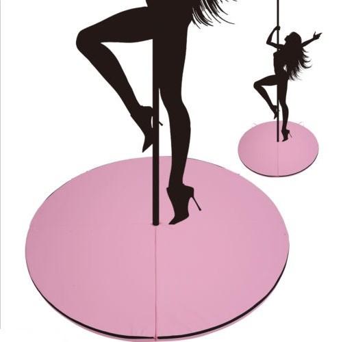 160cm Diameter Exercise Mat for Dancing Pole