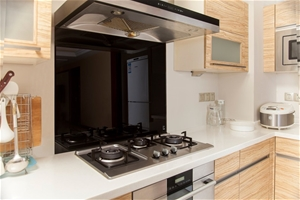 Toughened 90cm x 70cm Black Glass Kitche