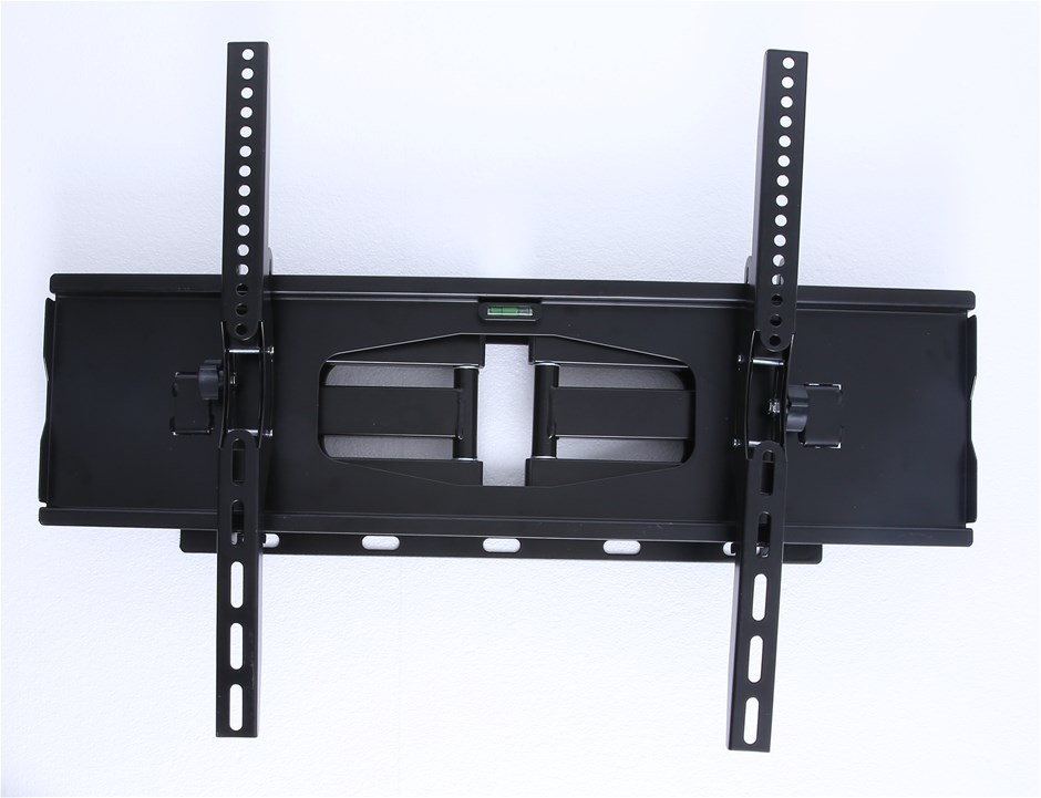 "30-60"" Plasma LED LCD Screen TV Dual Arm Wall Mount with 180° Swivel"