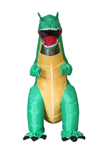 Dinosaur T-Rex Fancy Dress Fan Inflatabl