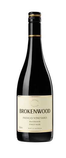 Brokenwood `Indigo Vineyard` Pinot Noir 2018(6 x 750mL), Beechworth, VIC.