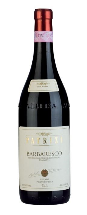 Patrizi Barbaresco 2014 (12 x 750mL), Piedmont, Italy.