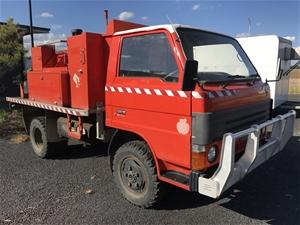 1990 Fire Truck, Mazda T3500