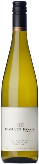 Domain Road Riesling Duffer Creek 2013 (12 x 750mL), Central Otago, NZ.