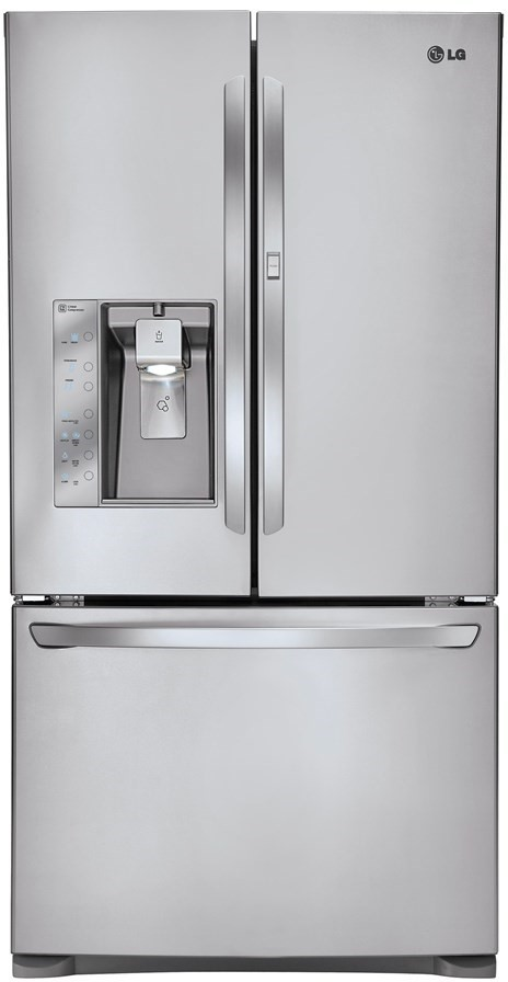LG 730L Stainless Steel French Door Refrigerator (GF-SD730SL)