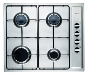 Emilia 60cm Stainless Steel Gas Cooktop