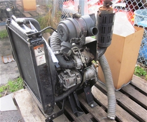 Vanguard stationery engine, Diesel 3 cyl