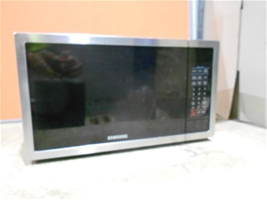 Samsung Microwave Oven M N Me6140sti Gl Turntable Electronic Touch Pan