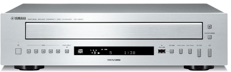 Yamaha CD-C600 5-Disc CD Changer (Silver)