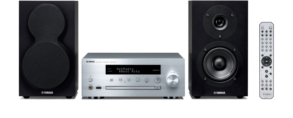 Yamaha MCR-N470S Micro HiFi System with Bluetooth, MusicCast & AirPlay