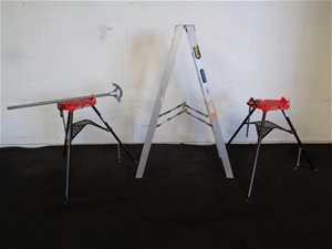 Ridgid Pipe Bender And Ladder