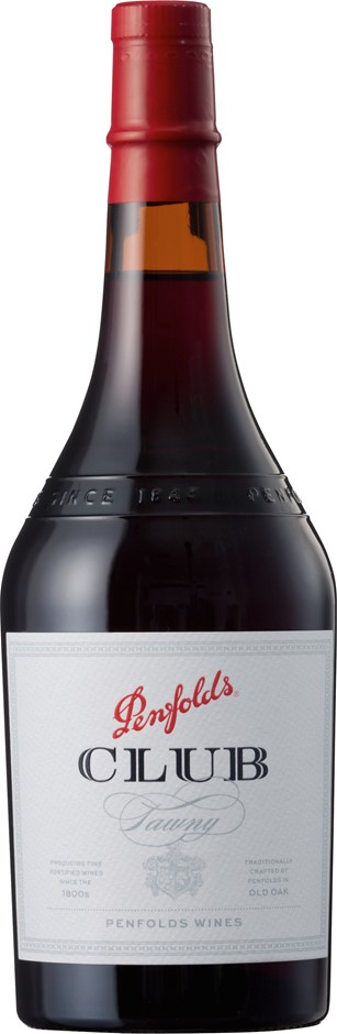 Penfolds Club Tawny NV (6 x 750mL), SE AUS.
