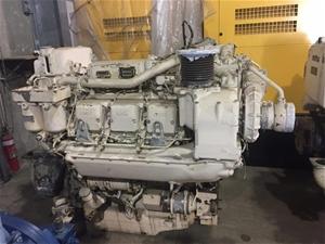 MTU 6V396 Marine Propulsion Engine Auction | Mideast Australia