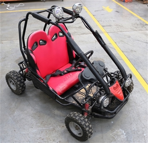 50cc kids 2 seater dune buggy auction 0001 3415274 graysonline australia. Black Bedroom Furniture Sets. Home Design Ideas