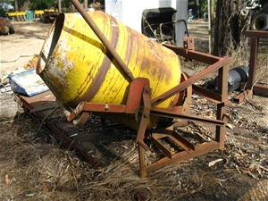 Cement Mixer Attachment For Tractor 3 Point Linkage